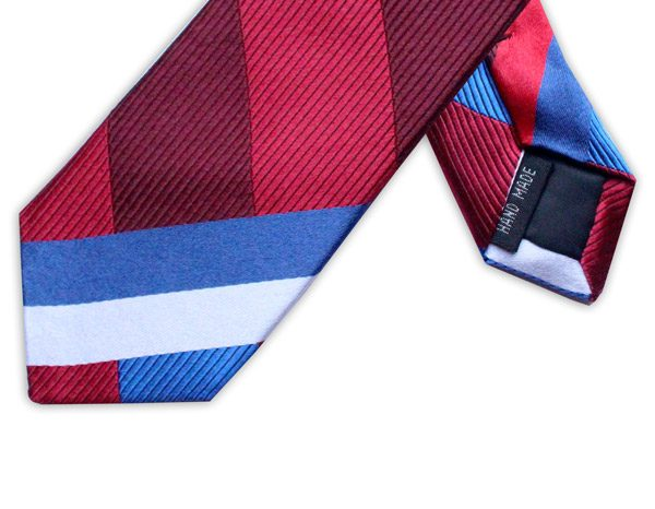 RED/WHITE/BLUE STRIPE TIE-0