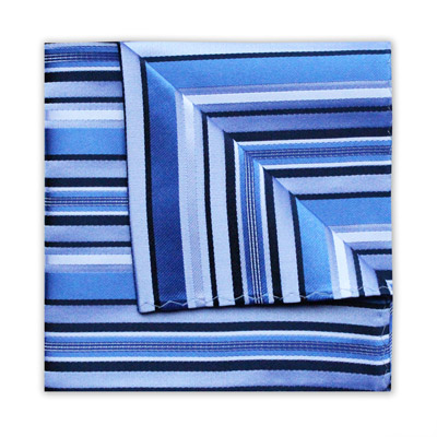 NAVY/BLUE DIAGONAL STRIPE SQUARE-0