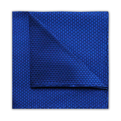 ROYAL BLUE GEOMETRIC SQUARE-0