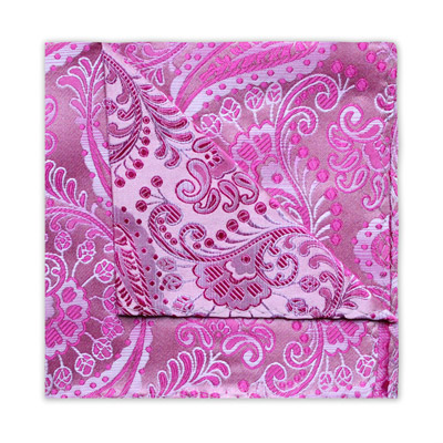 PINK FLORAL/PAISLEY SQUARE
