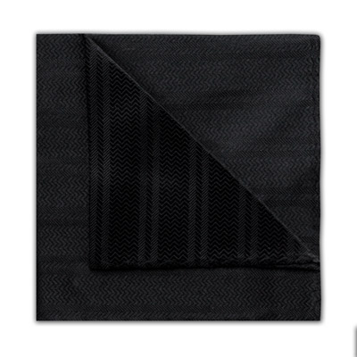 BLACK ZIGZAG SQUARE-0