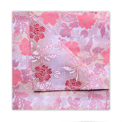 PINK/CORAL FLORAL SQUARE