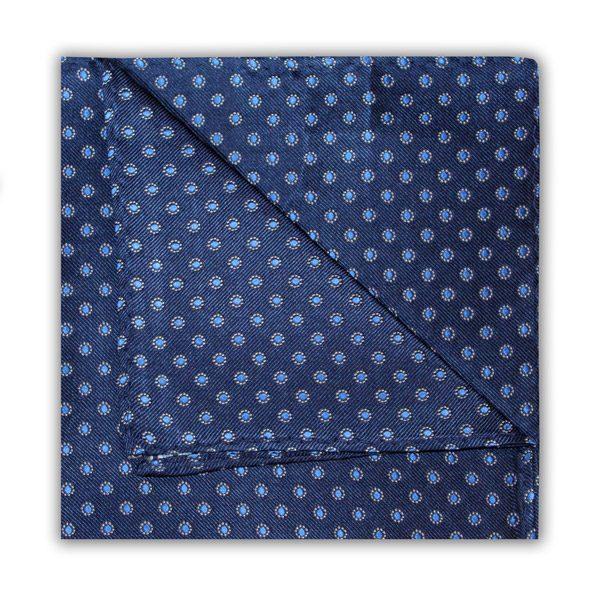NAVY/BLUE POLKA DOT SQUARE-0