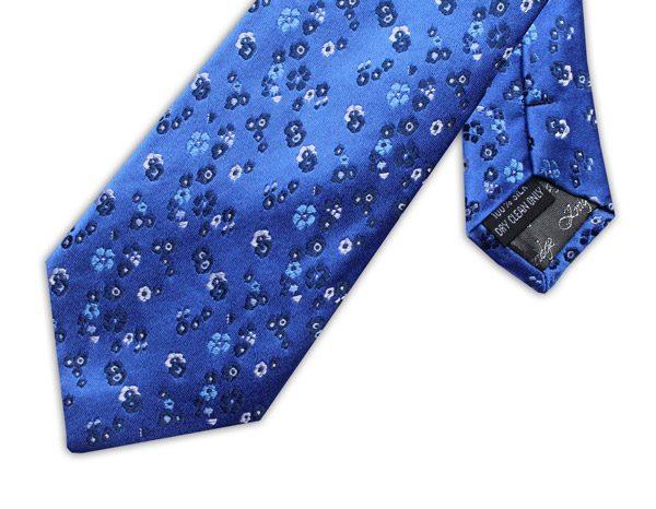 BLUE/WHITE/NAVY FLORAL XL TIE-0