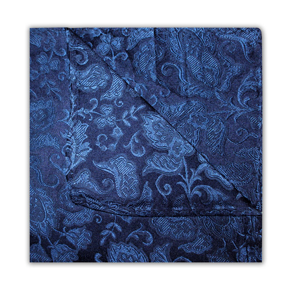 NAVY/BLUE FLORAL SQUARE