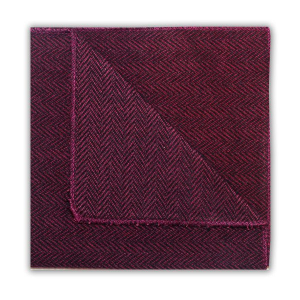 DEEP PINK HERRINGBONE SQUARE-0