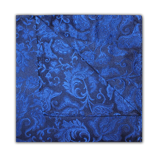 NAVY/ROYAL BLUE FLORAL SQUARE