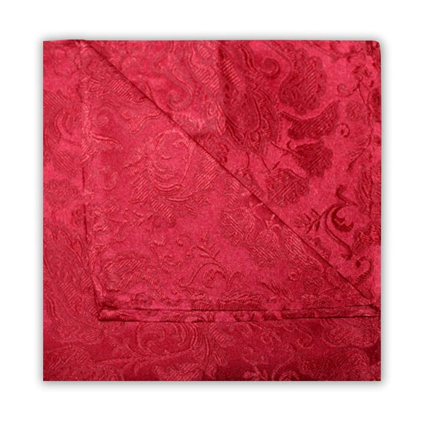 RUBY RED FLORAL SQUARE-0