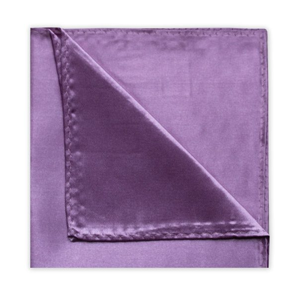 PURPLE POLY SATIN SQUARE-0