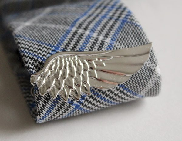 ANGEL WING TIE PIN-0