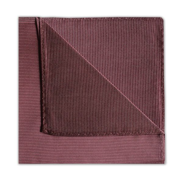SOFT BURGUNDY SILK SQUARE-0