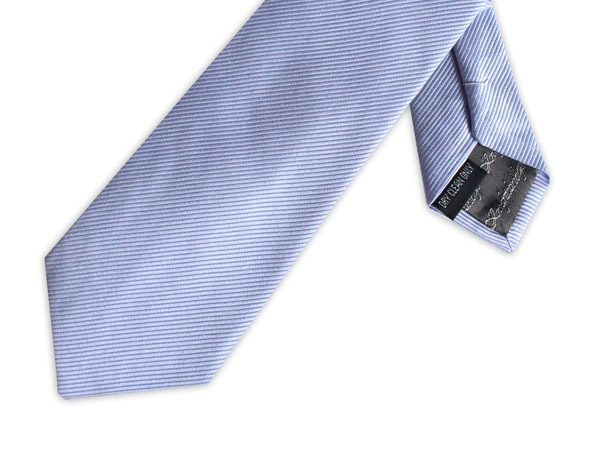 LIGHT BLUE SILK TIE-0