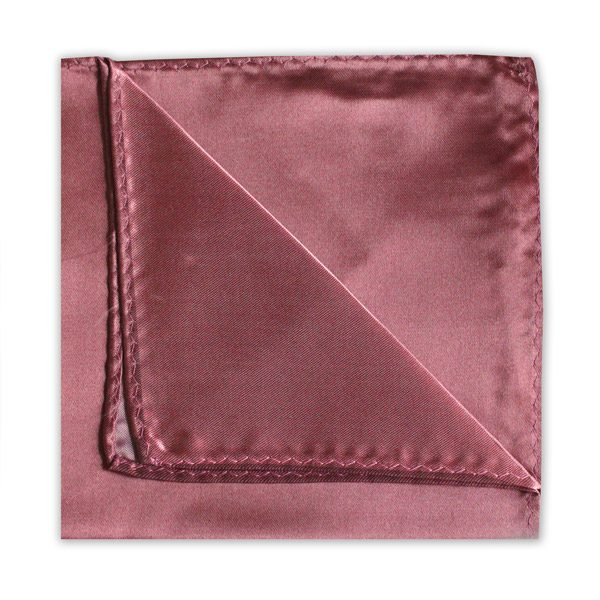 SOFT BURGUNDY POLY SATIN SQUARE-0