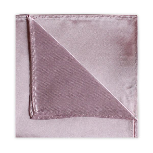 LIGHT PINK POLY SATIN SQUARE-0