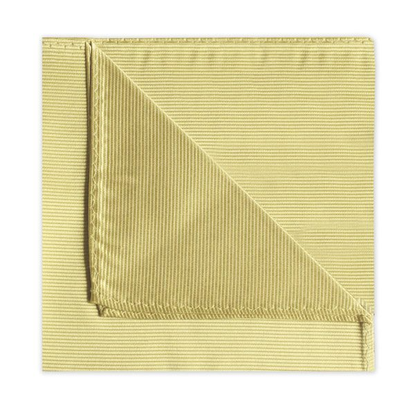 YELLOW SILK SQUARE-0