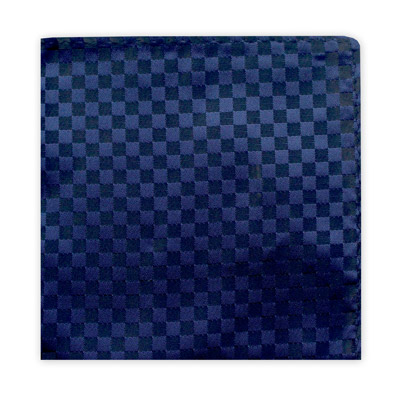 NAVY & BLACK CHECKER BOARD SQUARE-0