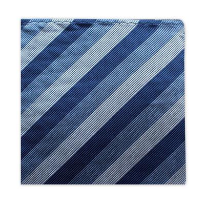 BLUE STRIPE SQUARE-0