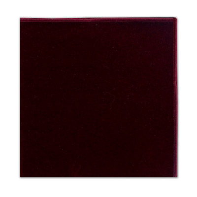 BURGUNDY POCKET SQUARE-0