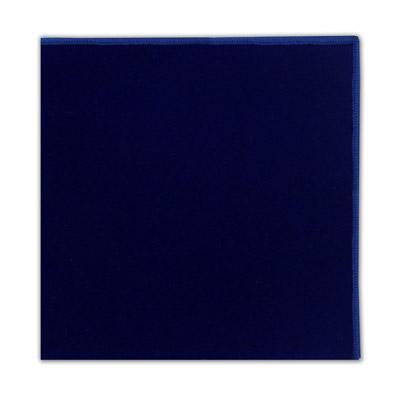 ROYAL BLUE POCKET SQUARE-0