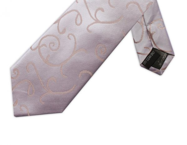 A TOUCH OF PINK SWIRL TIE-0