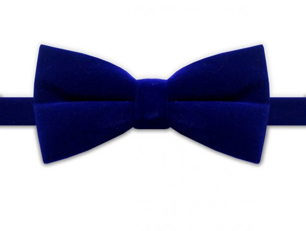 ROYAL BLUE BOW TIE-0
