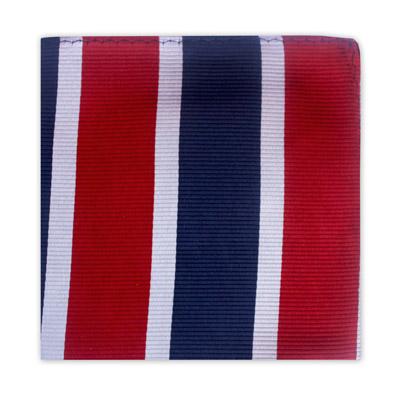RED, BLUE & WHITE STRIPE SQUARE-0