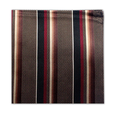 RED, BROWN & BLACK STRIPE SQUARE