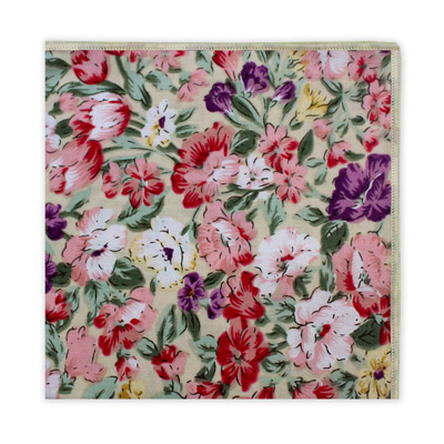 PINK & PURPLE FLORAL SQUARE-0