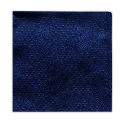 NAVY PAISLEY SQUARE-0