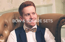 Bow Tie and Pocket Square sets