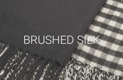 Brushed Silk Scarves