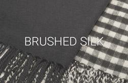 Brushed Silk Scarves