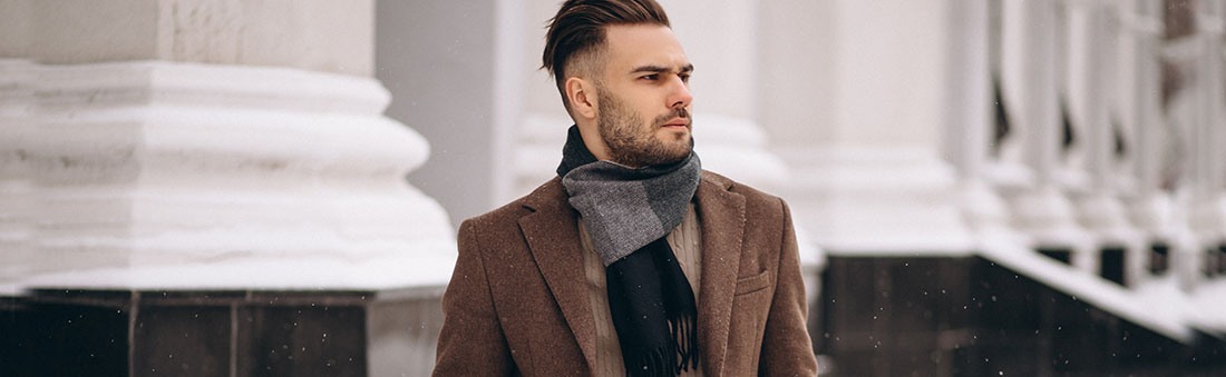 men's winter scarves, mens face covering scarves