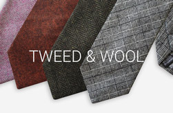 Mens Tweed/Wool Ties