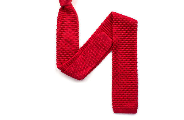 Plain Knitted Ties