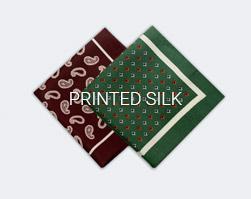 Silk Printed Squares
