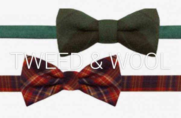 Tweed Bow Ties