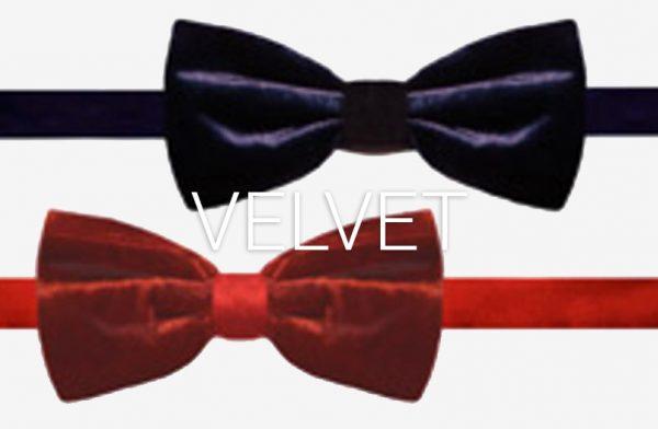 Velvet Bow Ties