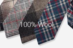 100% Wool Ties
